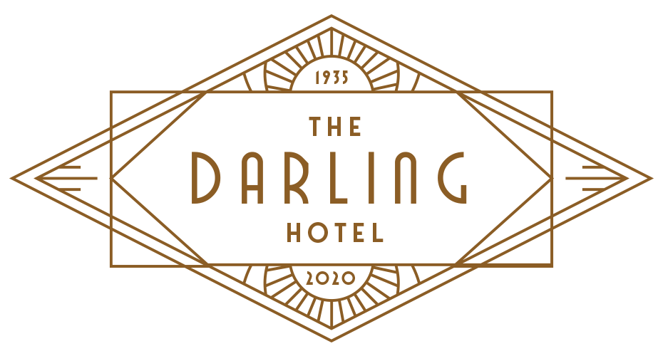 The Darling Hotel, Visalia, CA Logo